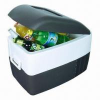 China DC Compressor Car Cooler Box with 40 Liters and Built-in AC Function on sale