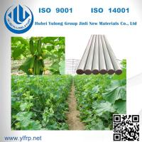 Solid Round Pultrusion High Strength Light Weight FRP Fiberglass Strip Manufactures