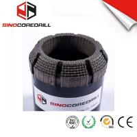 Face Discharge Step Natural Diamond Core Bit HQ3 Surface Set Drill Bits Manufactures