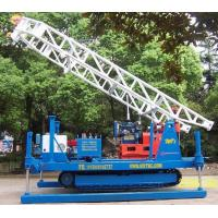 Hydraulic Chuck Crawler Drilling Rig Hydraulic , Portable Drilling Machine Manufactures