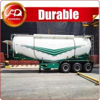 2017 New V type diesel pump bulk cement tanker truck and tank trailer Manufactures