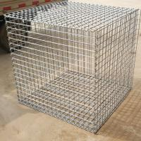 1m x 1m x 0.5m Hot Dipped Galvanized Welded Gabion Box for Retaining  Stone Manufactures