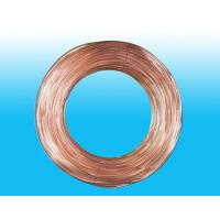 Round 4mm X 0.5 mm Copper Coated Bundy Tube For Water Coolers Manufactures