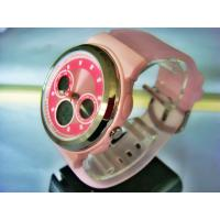 China Pink Ladies Analog Digital Watches With Alarm 100M Water Resistant on sale