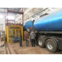 Short Distance Bitumen Transport Tanker Simple Type Burner Direct Heating Manufactures
