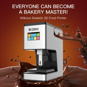China New design factory price Edible food DIY food best price Chocolate 3D Printer on sale
