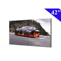 Full HD 2X2 DID video wall 42 inch lcd with 22mm screen bezel tv walls Manufactures
