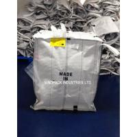 White Conductive Big Bags , Fibc Big Bags Preventing Combustion And Explosion Manufactures