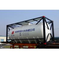 Stainless Steel 20ft Liquid Tank Container 26000L International Shipping Standard Manufactures