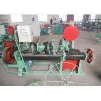 Double Twisted / Single Twisted Barbed Wire Machine Multi Function Low Noise Manufactures