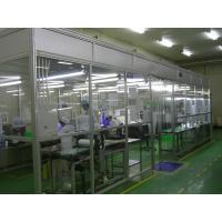 Buy cheap Clean Room Accessories Aluminum Positive Pressure Softwall Clean Room Top Laminar Flow from wholesalers