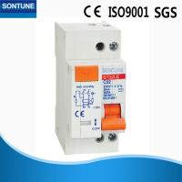 White 230V RCBO Circuit Breaker 1P+N Pole IEC61009 Standard Light Weight Manufactures