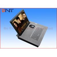 Flip Up Hidden Electric Monitor Lift Mechanism For Audio Video Conference System