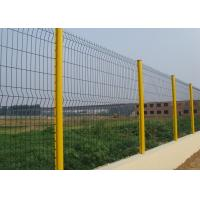 Metal Galvanised Welded Mesh Fencing , Welded Wire Mesh Fence Easily Assembled Manufactures