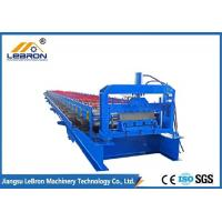 Steel Roof Sheet Forming Machine Long Time Service For Metal Floor Decking Sheet Manufactures