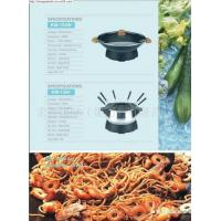 Buy cheap Electric Wok with Fondue Set from wholesalers