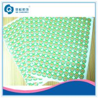 Green Customized Printed Self Adhesive Labels Sticker For Trademark Manufactures