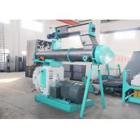 High Performance Livestock Feed Pellet Machine With Stainless Steel Ring Die Type Manufactures