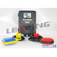 Black Color Deep Well Pump Control Box Easy Maintain For Steel Plant Manufactures
