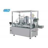 5 - 20ml Oral Liquid Filling Machine Pharma Industry Use With 4 Filling Nozzles Manufactures
