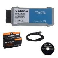 china OEM WIFI VXDIAG VCX NANO OBD2 interface for Toyota Manufactures