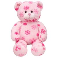 Fashion And Pink Teddy Bear Stuffed Animal Toys Fashion Soft material Manufactures