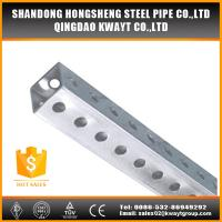 perforated square sign post Manufactures