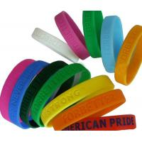 China Colorful Kids / Men Silicone Rubber Bands Eco-friendly on sale