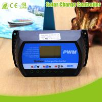 China HANFONG 12V/24V LCD display 30A PWM charge controller solar panel charge controller on sale