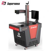 Stainless Steel Portable Desktop Laser Engraving Machine 20 Watt Compact Model Manufactures