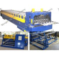 China PLC Control Roof Tile Roll Forming Machine With Large Load Capacity on sale