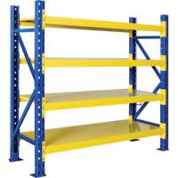 Steel / Plywood Plate Medium Duty Racking for Warehouse / Supermarket Store Manufactures