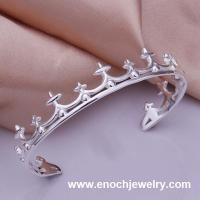 Cheap 925 silver bangle bracelets and hinged bracelets Manufactures