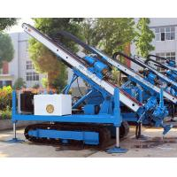 0~ 90 ° Hydraulic Crawler Deep Foundation Pit Anchor Drilling Rig Manufactures