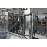 Glass / PET Bottle Filling Machine for Sunflower Oil , Olive Oil , Lube Oil 10000 BPH Manufactures