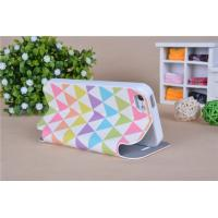 Buy cheap Soft TPU back case and PU leather flip case cover for Samsung iphone 5 mobile, from wholesalers