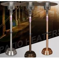 Remote Control Round Natural Gas Patio Heater 80~120 Square Meters Heating Area Manufactures