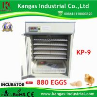 2017 Hot sale New Fully Automatic Chicken Egg Incubator for 880 Eggs Manufactures