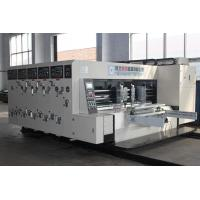 Automatic Carton Making Machine , Slotting And Die Cutting Equipment Manufactures