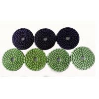 Quality High Efficiency Floor Polishing Pads Diamond Pads For Concrete Floors for sale