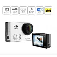 4K 30M Waterproof Sports Video Camera , Full HD 1080P Action Camera With 900mAh Battery Manufactures