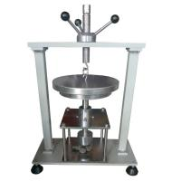 Steel Pressure IEC 60884-1 Figure 8 Compression Test Equipment By Manual Operation
