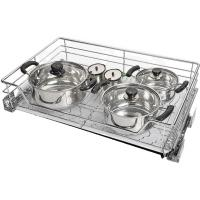 Convenient Pull Out Baskets For Kitchen Cupboards High Load Capacity Manufactures