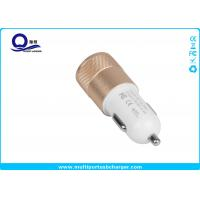 Quality Mobile Phone Dual Port USB Car Charger adapter / iPhone 7 Samsung Xiaomi Usb Phone Charger for sale