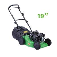 China Small size 19 Inch Hand push gasoline garden grass lawn mower  equipment on sale