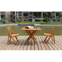 China Bamboo Furniture Bamboo Folding Table and Chair Manufactures