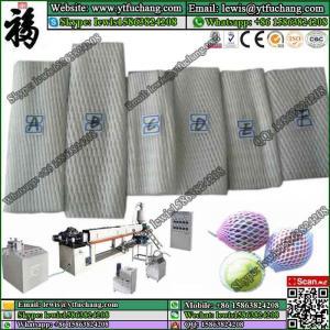 Offering PE Foam Fruit Net Machine polyethylene LDPE Foam Net Extruder Manufactures