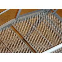 China Durable Stainless Steel Expanded Metal Mesh Staircase Non - Slip Steel Mesh on sale