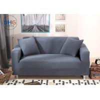 Long Cloth Sofa Couch Covers , Sofa Throw Cover Polar Fleece Stains Proof Manufactures