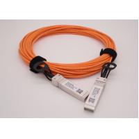 OM2 1 Meter 10G AOC SFP+ to SFP+ Breakout Active Optical Cable Manufactures